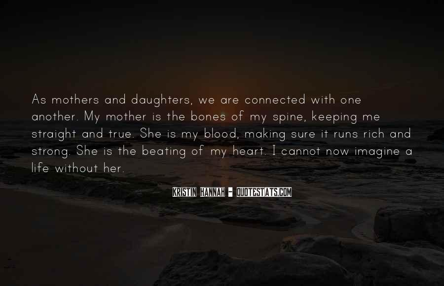 Quotes About Non Blood Mothers #881464