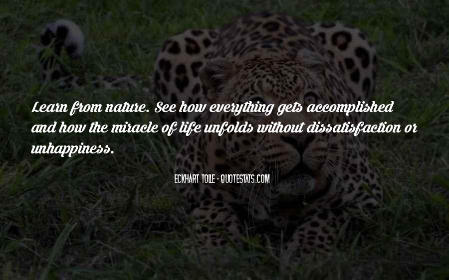 Quotes About Miracle Of Life #274149