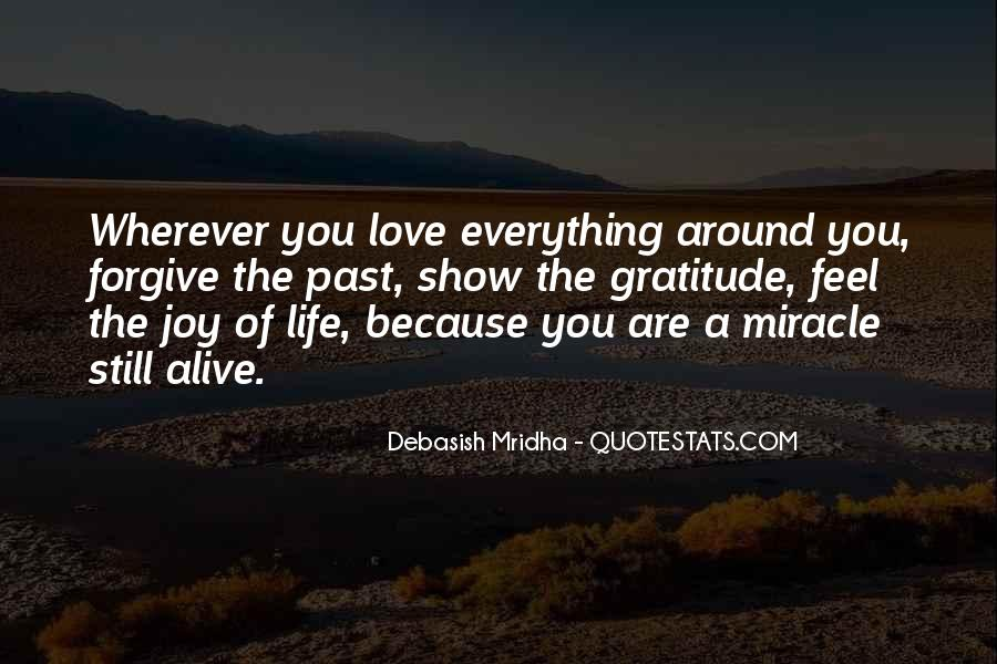 Quotes About Miracle Of Life #71211