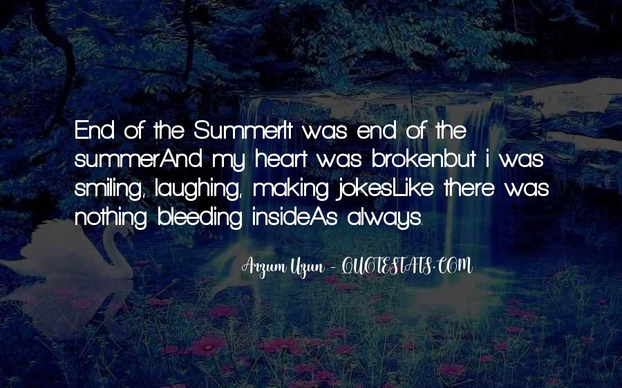 Quotes About The End Of Summer Love #1729372