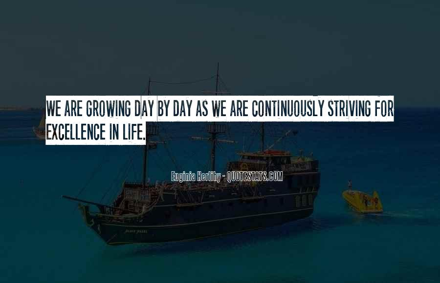Quotes About Striving For Excellence #1433008