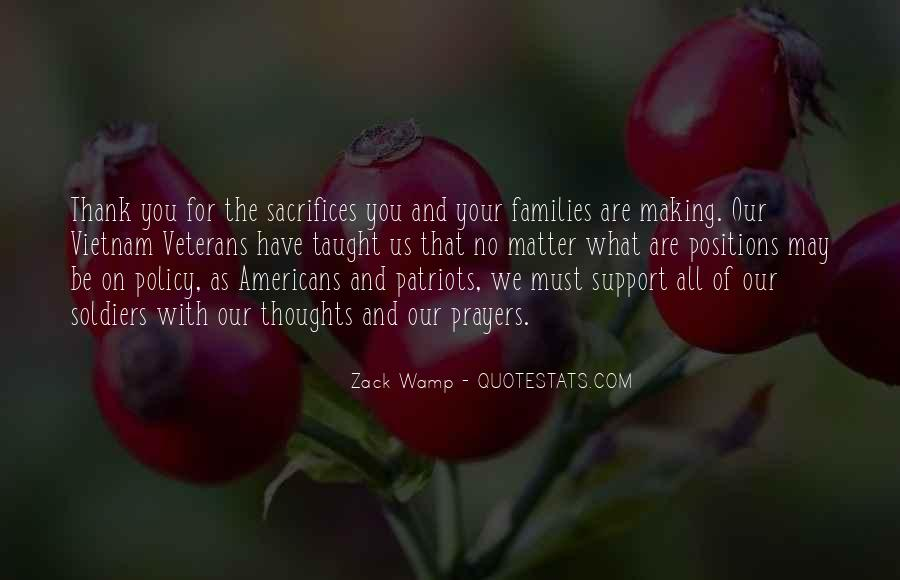 Quotes About Making Sacrifices #1106805