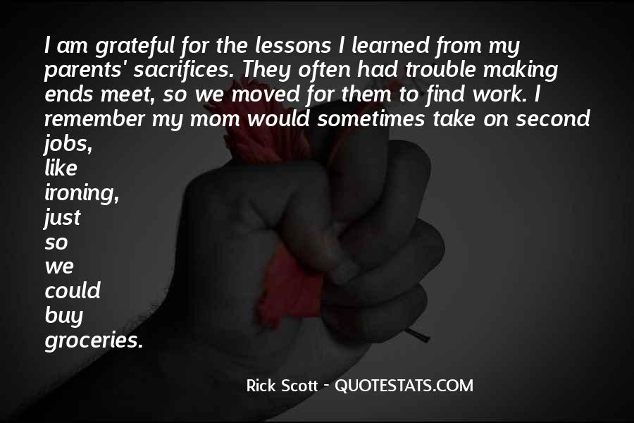 Quotes About Making Sacrifices #1183591