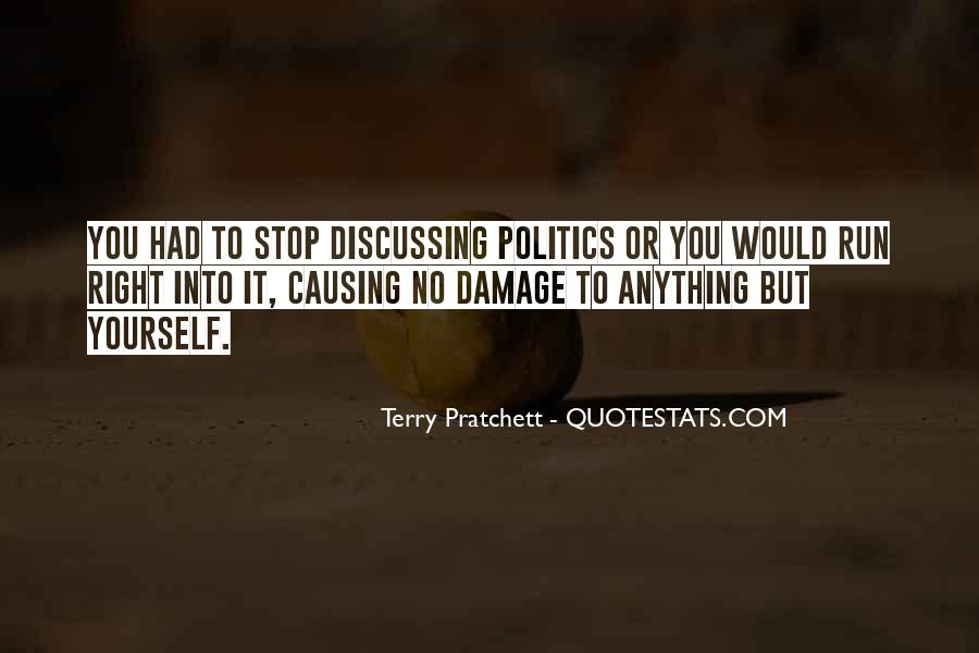 Quotes About Discussing Politics #1002289