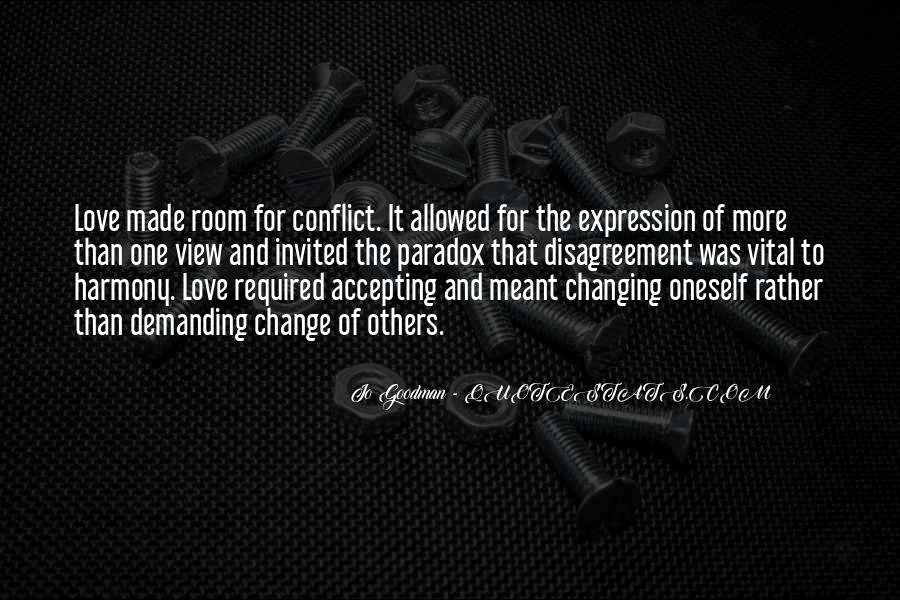 Quotes About Paradox Of Love #106832