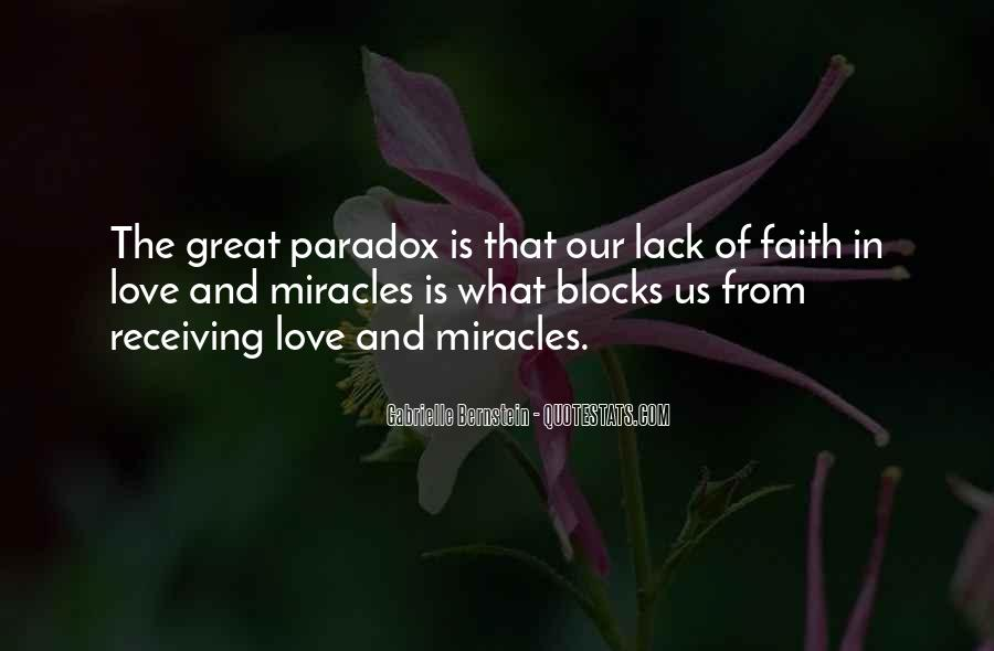 Quotes About Paradox Of Love #1380258