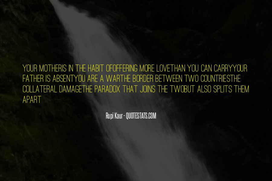 Quotes About Paradox Of Love #1646671
