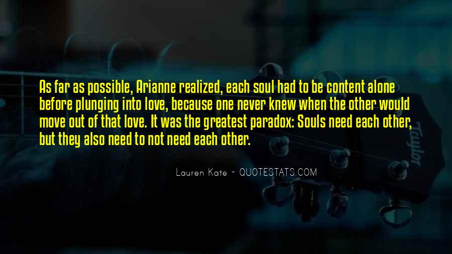 Quotes About Paradox Of Love #229927