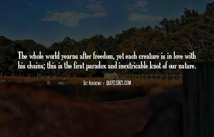 Quotes About Paradox Of Love #268912