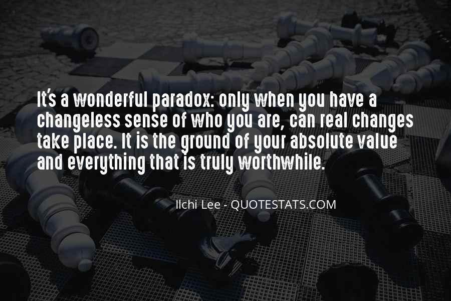 Quotes About Paradox Of Love #34392