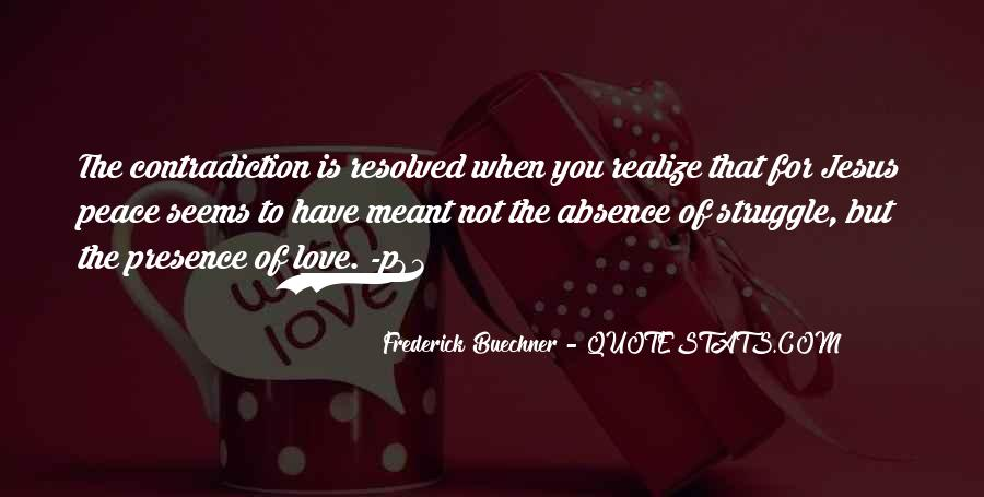 Quotes About Paradox Of Love #585958