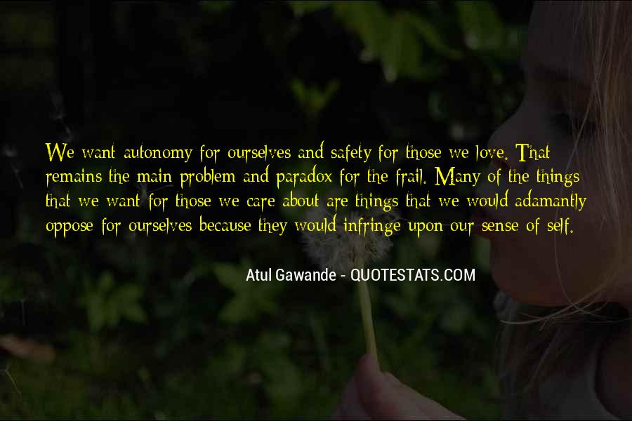 Quotes About Paradox Of Love #943381