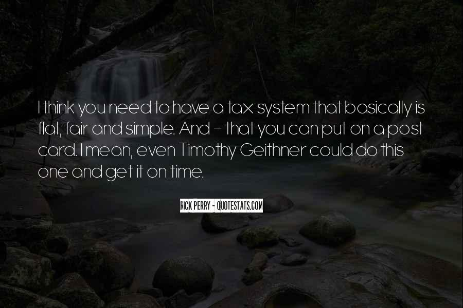 Quotes About Flat Tax #300957
