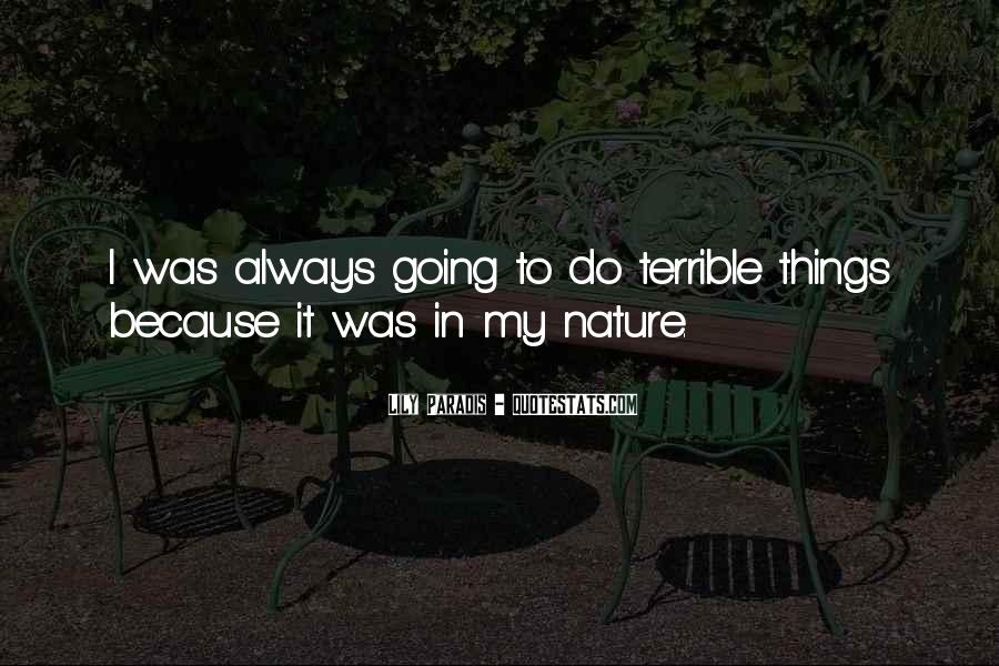 Quotes About Paradis #941942