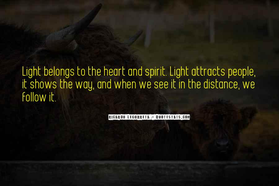 Quotes About Distance And Heart #119863