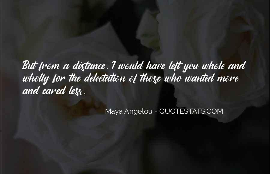 Quotes About Distance And Heart #1425488