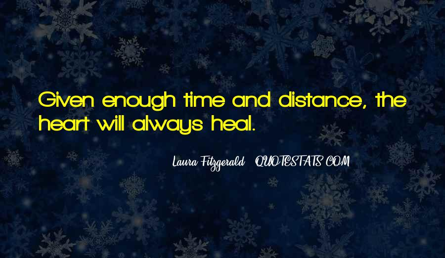 Quotes About Distance And Heart #1833527