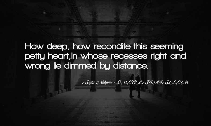 Quotes About Distance And Heart #1859268