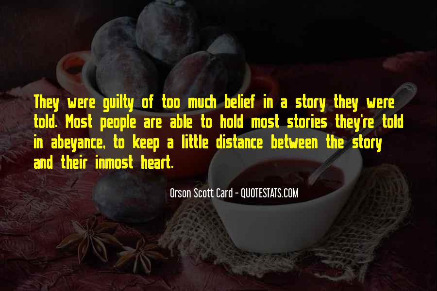 Quotes About Distance And Heart #516179