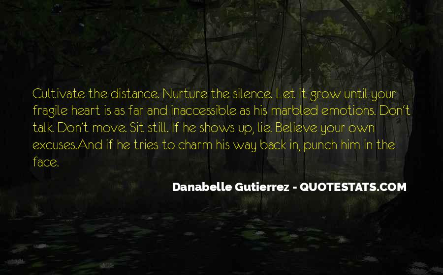 Quotes About Distance And Heart #828711
