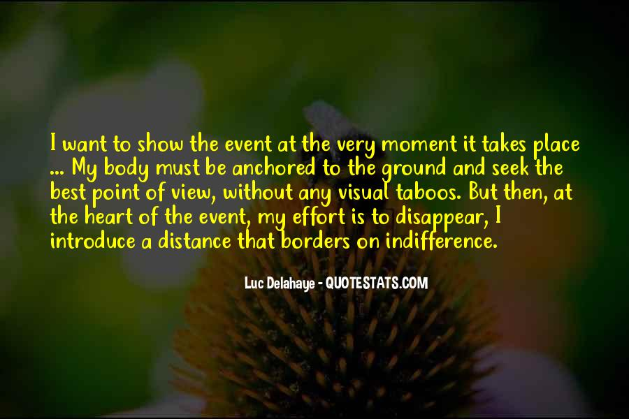 Quotes About Distance And Heart #91969