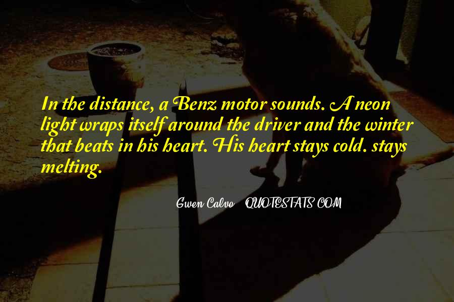 Quotes About Distance And Heart #934083
