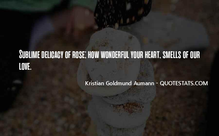 Quotes About Delicacy #758342