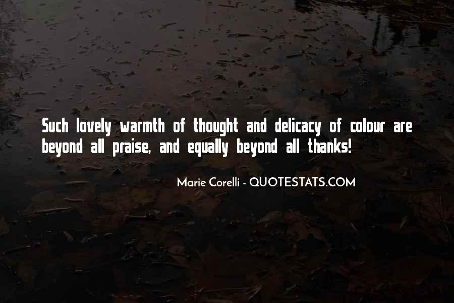 Quotes About Delicacy #769078