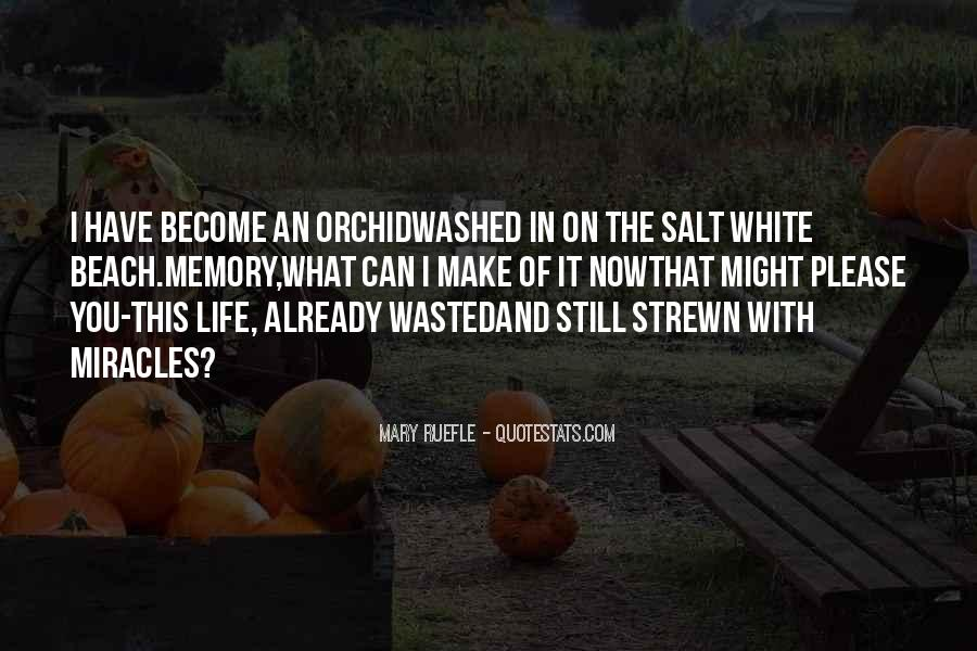 Quotes About White Orchid #458998