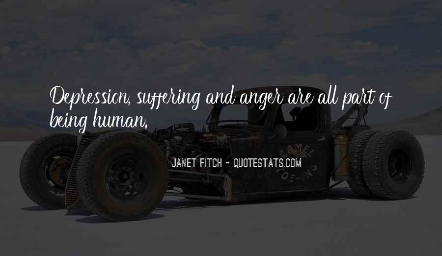 Quotes About Anger And Depression #1081404