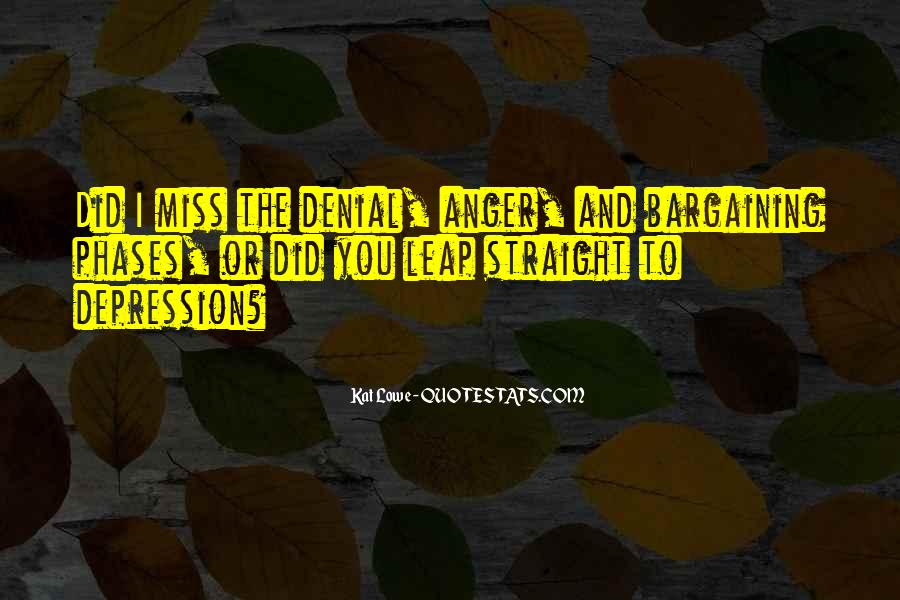 Quotes About Anger And Depression #1185775