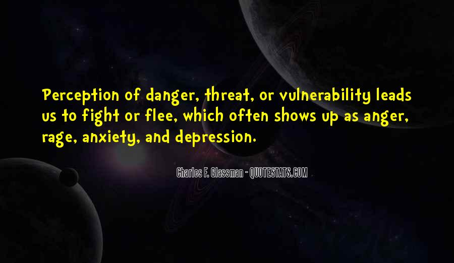 Quotes About Anger And Depression #137589