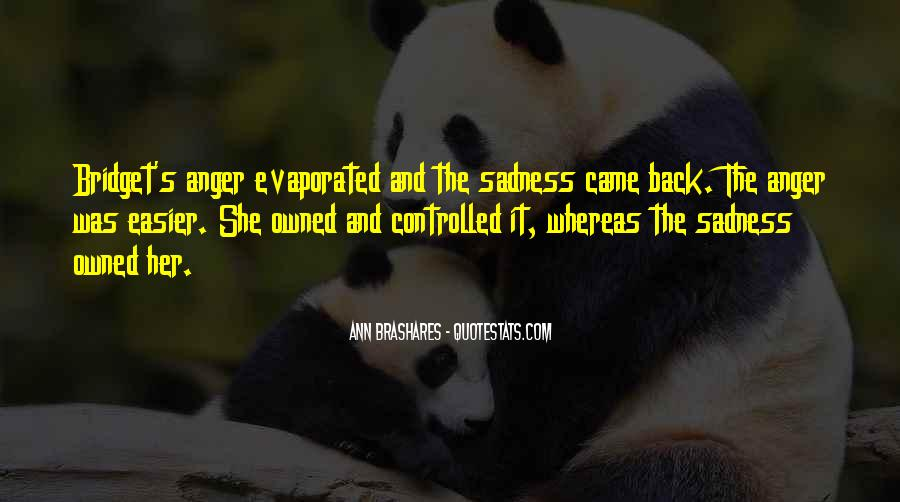 Quotes About Anger And Depression #1511051