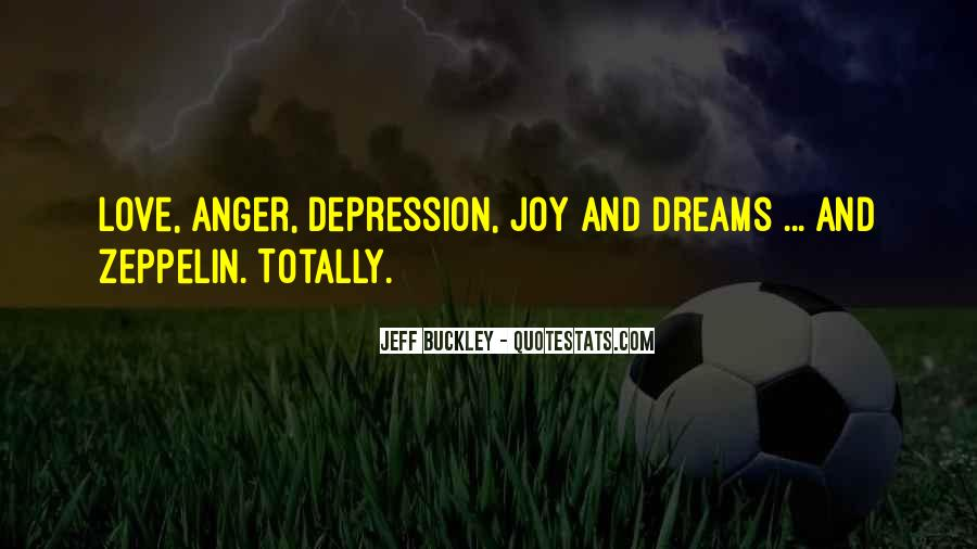Quotes About Anger And Depression #1586591