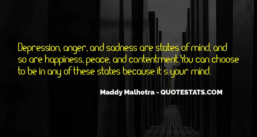 Quotes About Anger And Depression #1615139