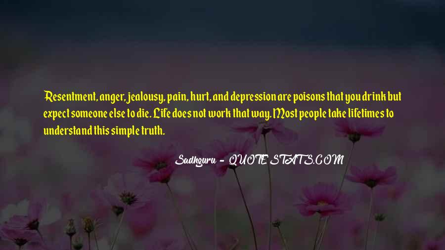 Quotes About Anger And Depression #165353
