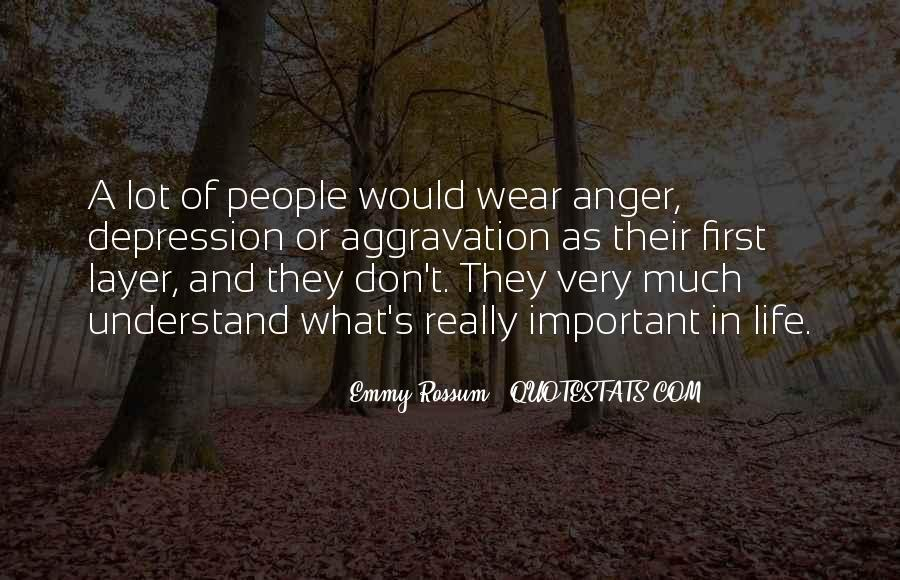 Quotes About Anger And Depression #1857918