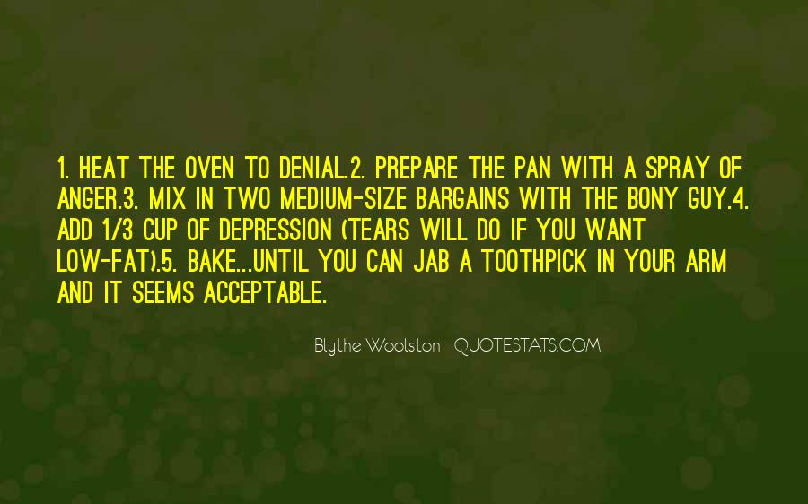 Quotes About Anger And Depression #610287