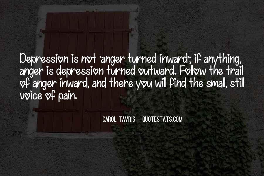 Quotes About Anger And Depression #695324