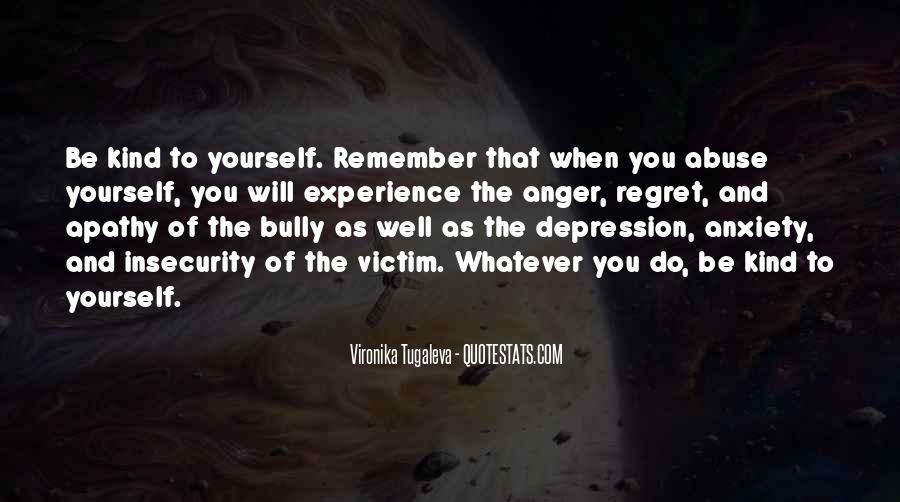 Quotes About Anger And Depression #823546
