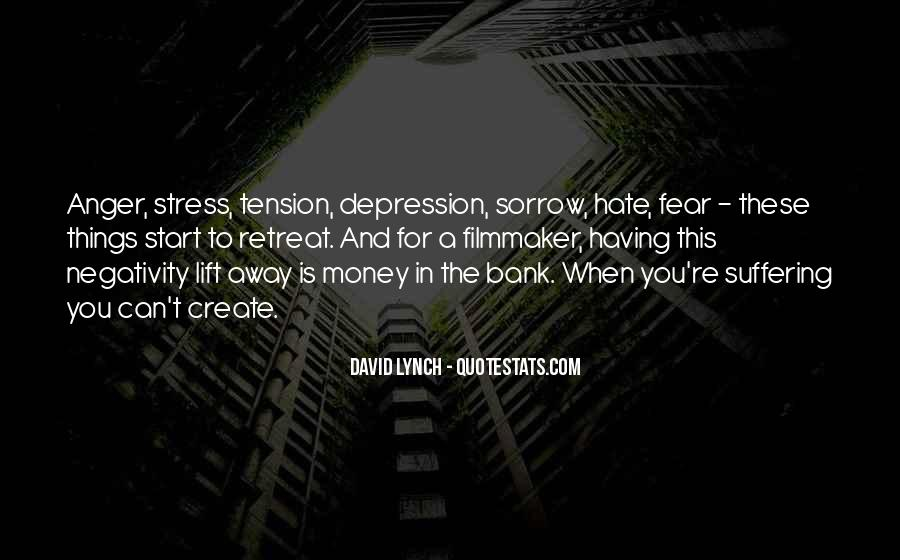 Quotes About Anger And Depression #957308