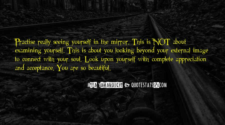 Quotes About Seeing Yourself In The Mirror #957205