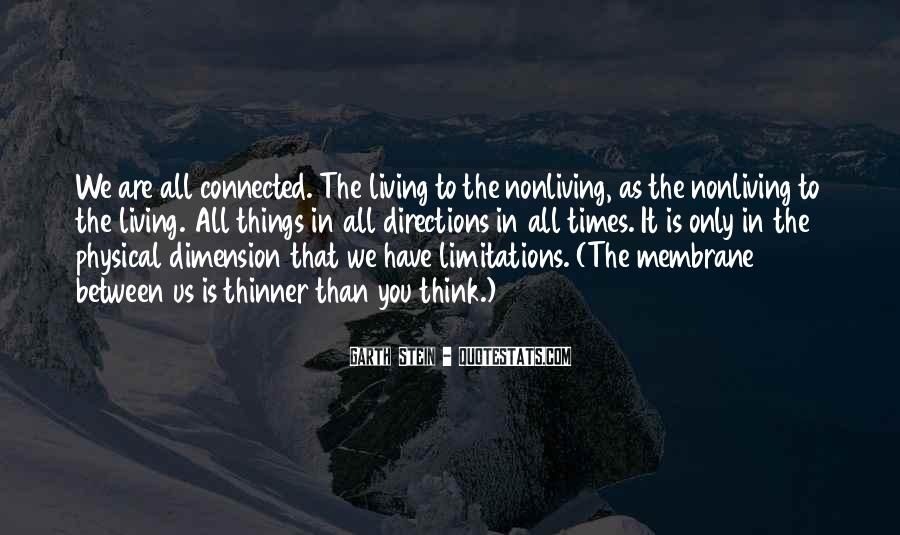 Quotes About Living And Nonliving Things #199015