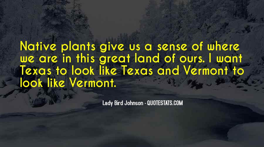 Quotes About Plants And Nature #1870258