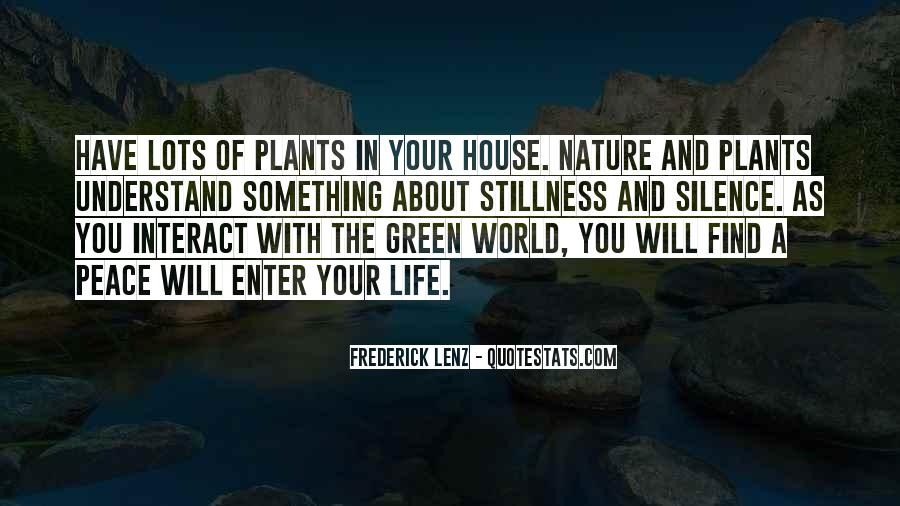 Quotes About Plants And Nature #244689