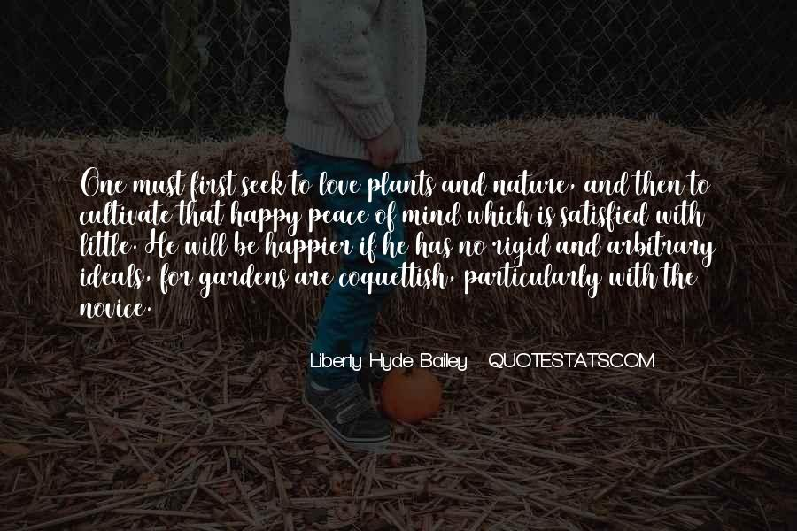 Quotes About Plants And Nature #602043