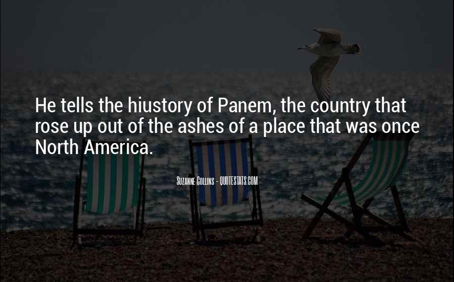 Quotes About Panem #129778