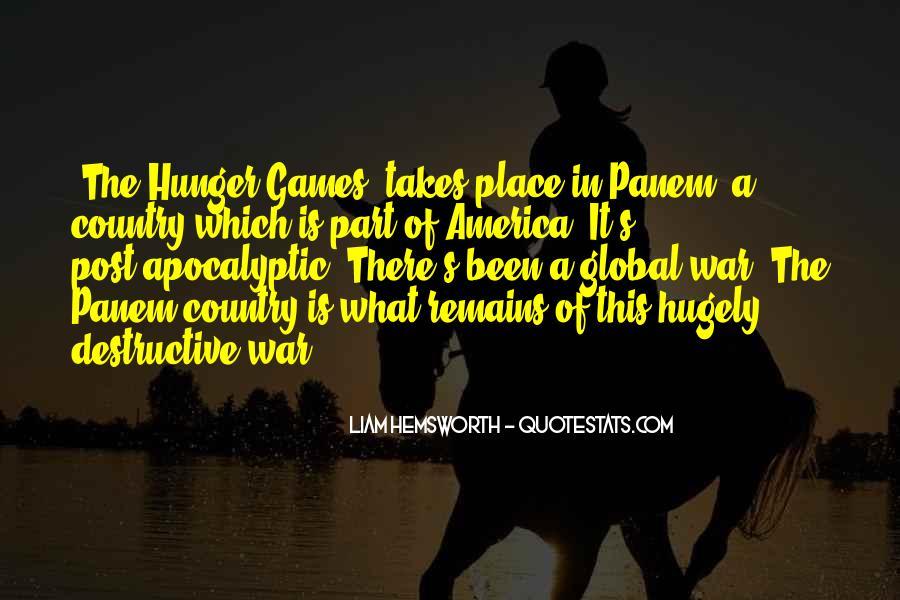 Quotes About Panem #43665