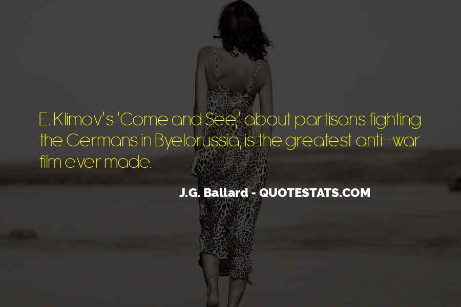 Quotes About Partisans #1195340