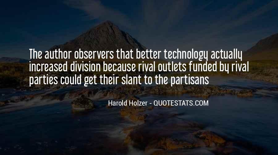 Quotes About Partisans #293331